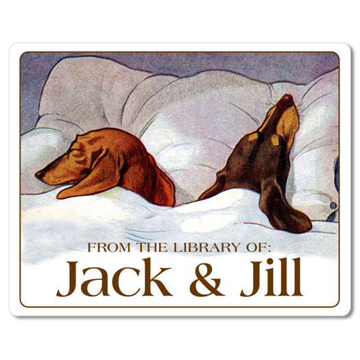 Dog Bookplates