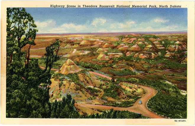 North Dakota Vintage Postcards