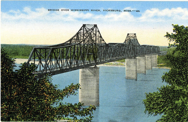 Mississippi Vintage Postcards