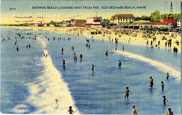 Old Orchard Beach Maine Postcard