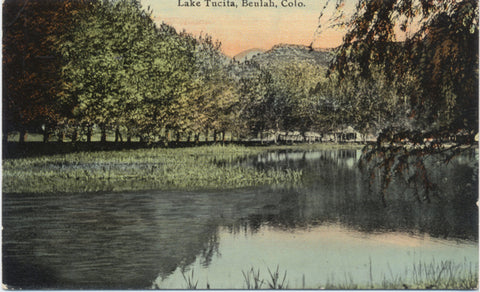 Beulah Colorado Lake Tucita Vintage Postcard circa 1907 (unused) - Vintage Postcard Boutique