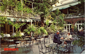 Brennan's Restaurant French Quarter New Orleans Louisiana Vintage Postcard 1950s (unused)