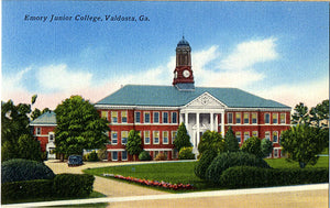 Emory Junior College Valdosta Georgia Vintage Postcard (unused) - Vintage Postcard Boutique