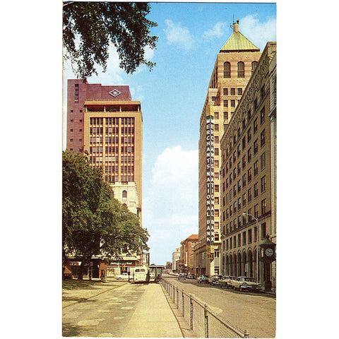 Mobile Alabama St. Joseph Street Vintage Postcard (unused) - Vintage Postcard Boutique