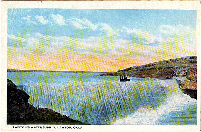 Lawton Oklahoma Water Supply Vintage Postcard (unused) - Vintage Postcard Boutique