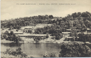 Carrollton Ohio FFA Camp Muskingum Vintage Postcard (unused) - Vintage Postcard Boutique