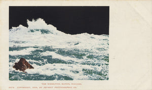 Niagara Falls New York Whirlpool Rapids Private Mailing Vintage Postcard 1898 - Vintage Postcard Boutique