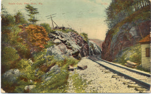 Pen-Mar Pennsylvania Rock Cut Railroad Vintage Postcard 1912 - Vintage Postcard Boutique