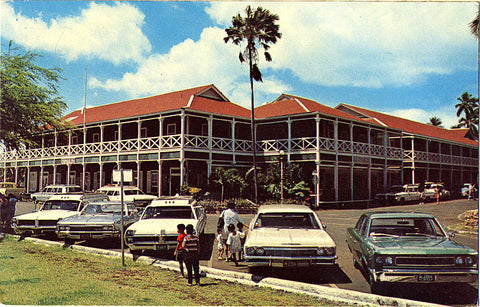 Lahaina Maui Hawaii Pioneer Hotel Vintage Postcard (unused) - Vintage Postcard Boutique