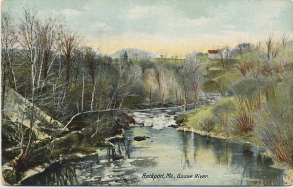 Rockport Maine Goose River Vintage Postcard (unused) - Vintage Postcard Boutique