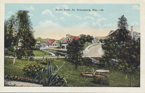 St. Petersburg Florida Roser Park Vintage Postcard (unused) - Vintage Postcard Boutique