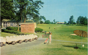 Shaw Air Force Base Golf Club South Carolina Near Sumter Vintage Postcard (unused) - Vintage Postcard Boutique