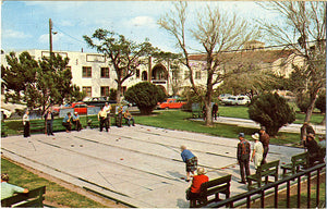 Rio Grand Valley Texas Shuffleboard Vintage Postcard 1976 - Vintage Postcard Boutique