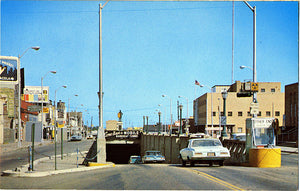 Mobile Alabama Bankhead Tunnel Entrance Vintage Postcard 1960s - Vintage Postcard Boutique