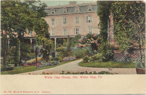 Delaware Water Gap Pennsylvania Water Gap House Vintage Postcard 1905 - Vintage Postcard Boutique