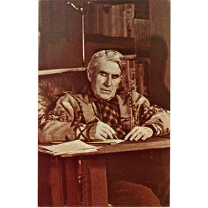 Zane Grey American Western Writer Vintage Postcard (unused) - Vintage Postcard Boutique