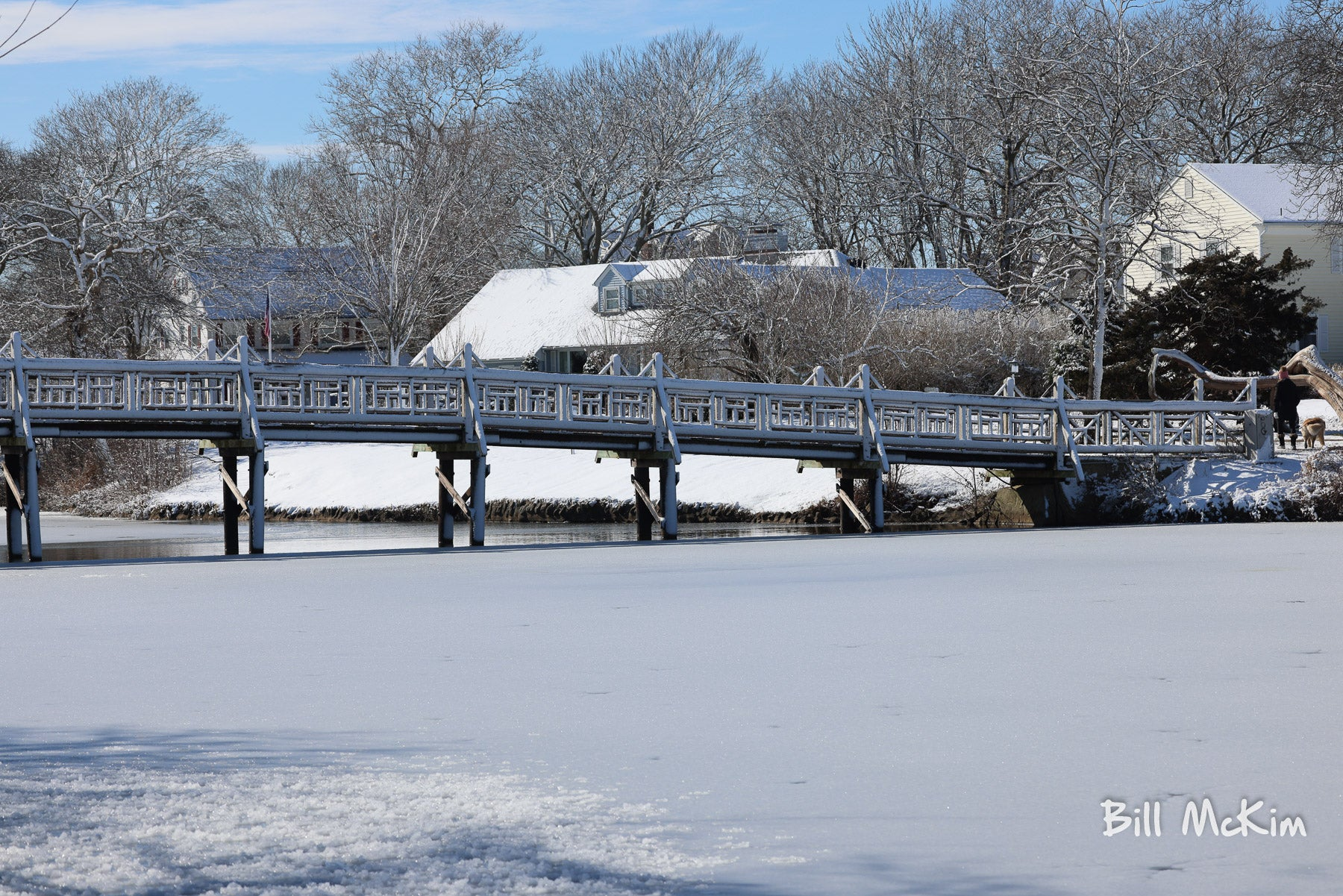 spring lake nj bridge snow covered