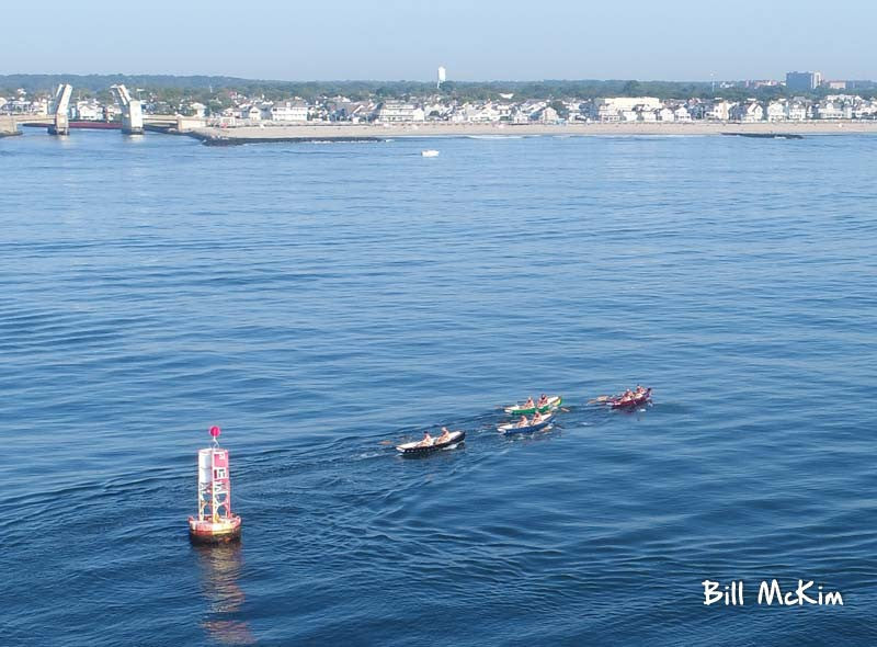ocean open rowing asbury park  to Belmar 2017 6 miles photos