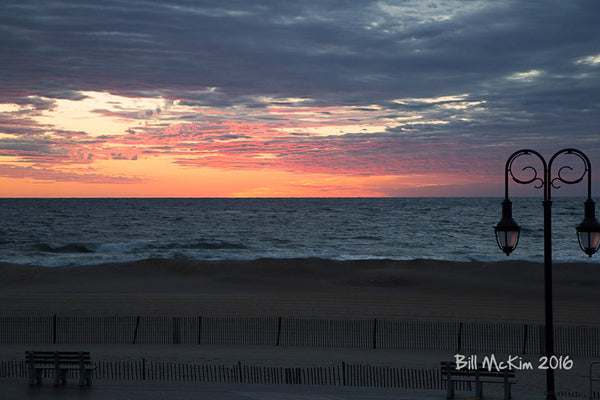 Sunrise Jersey shore spring 2016