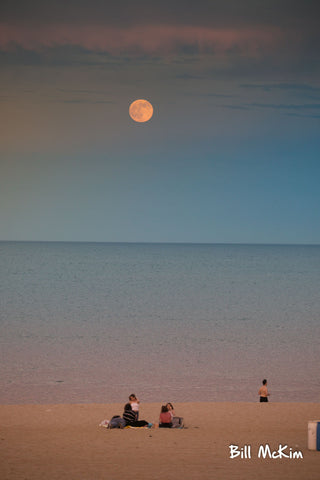full moon over the ocean july 2017 bill mckim