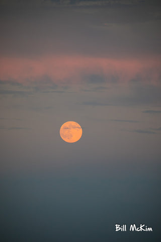 full moon over the ocean july 2017 bill mckim photo