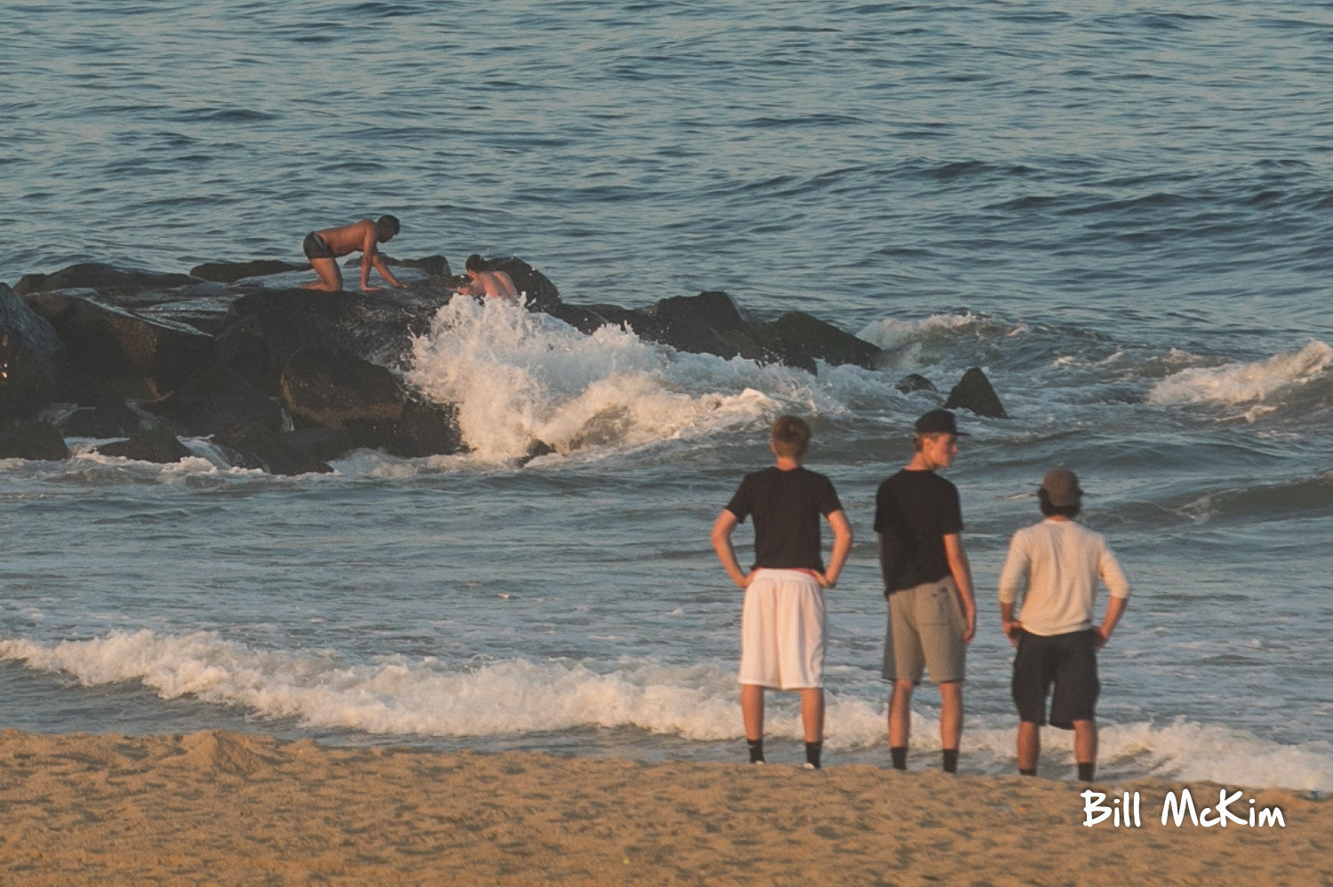 belmar beach rescue july 2017
