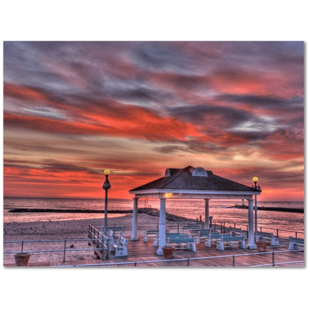 12 x 16 Avon Beach Canvas Gallery Wrap - Bill McKim Photography -Jersey Shore whale watch tours