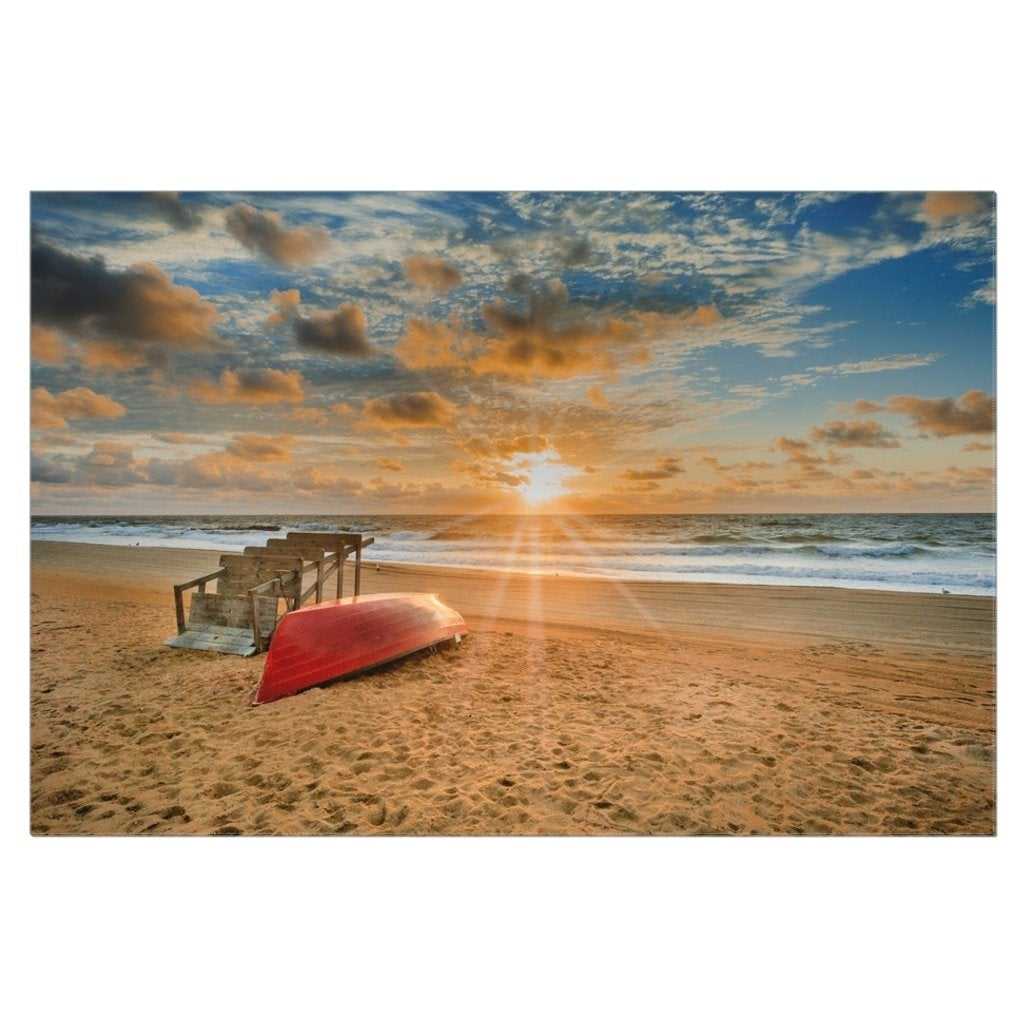 32 x 48 Belmar canvas wrap - Bill McKim Photography -Jersey Shore whale watch tours