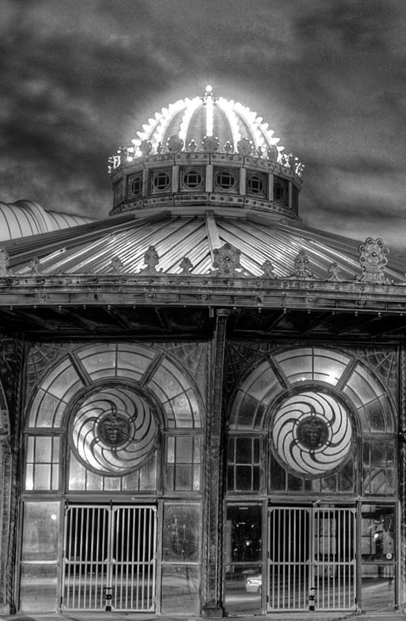 Asbury Park Carousel Eyes Artwork - Bill McKim Photography -Jersey Shore whale watch tours