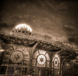 Asbury Park Carousel Night Artwork Print - Bill McKim Photography -Jersey Shore whale watch tours