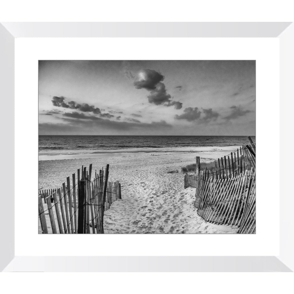 Beach Entrance Framed Prints - Bill McKim Photography -Jersey Shore whale watch tours