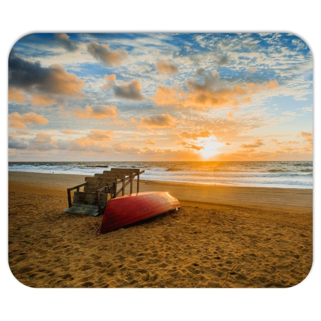 Belmar beach Mousepads - Bill McKim Photography -Jersey Shore whale watch tours