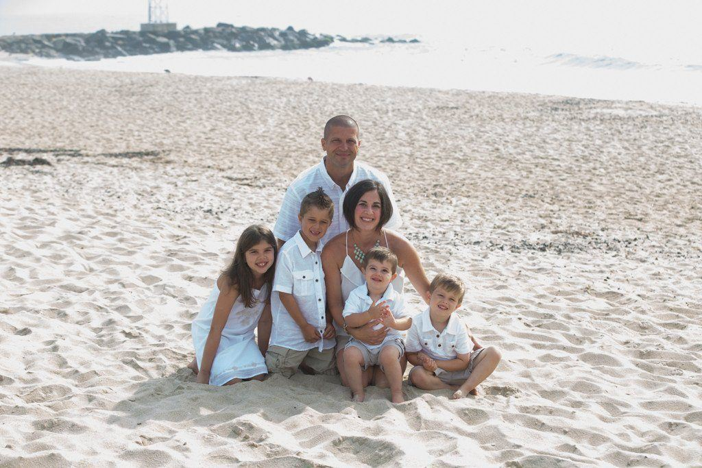 Deposit Family Portrait session - Bill McKim Photography -Jersey Shore whale watch tours