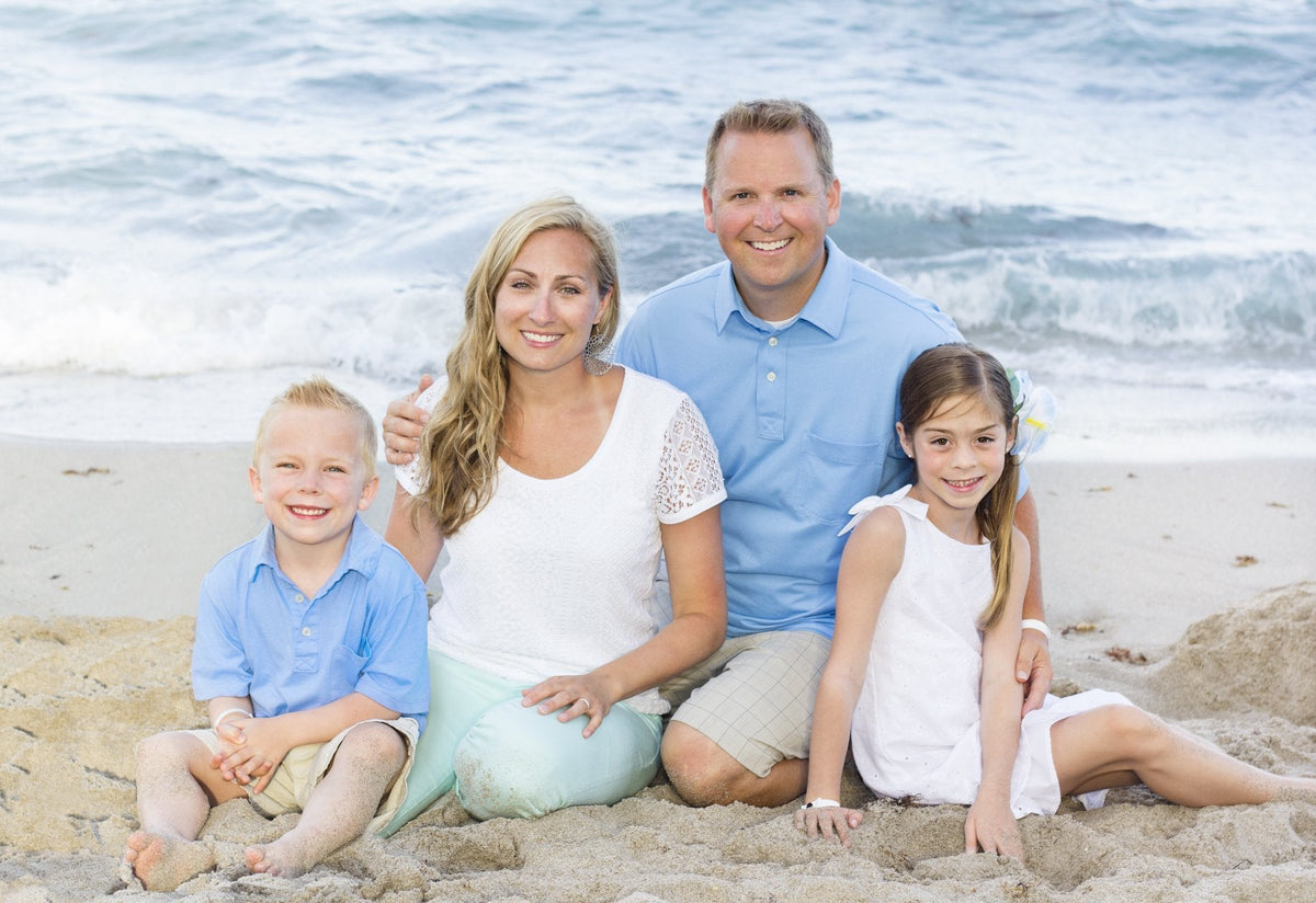 Family Photo Shoot mini session - Bill McKim Photography -Jersey Shore whale watch tours