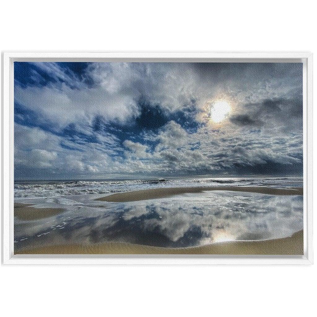 Framed Canvas Wraps sky 2021 - Bill McKim Photography -Jersey Shore whale watch tours