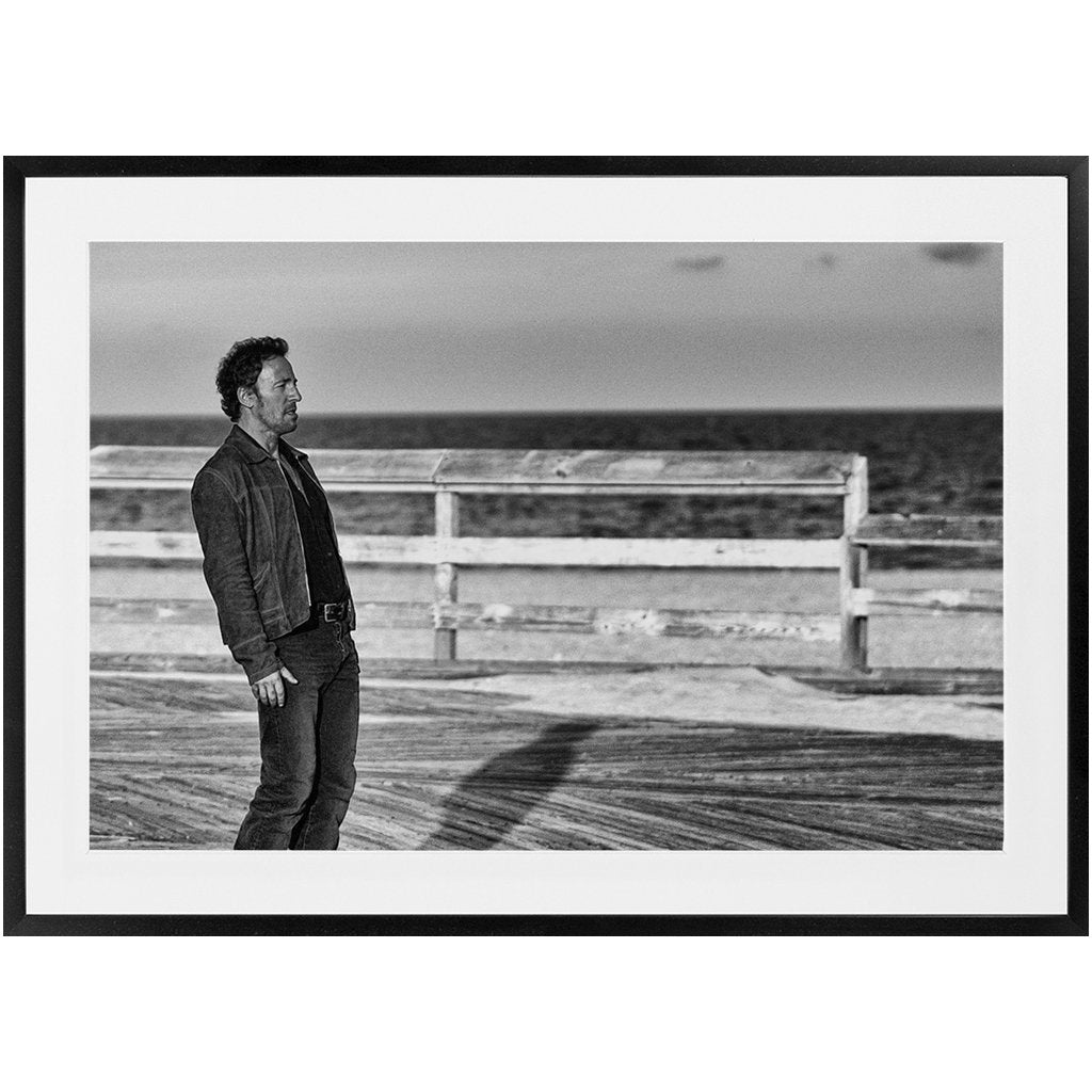 Framed Prints Bruce Springsteen Asbury Park 2002 - Bill McKim Photography -Jersey Shore whale watch tours