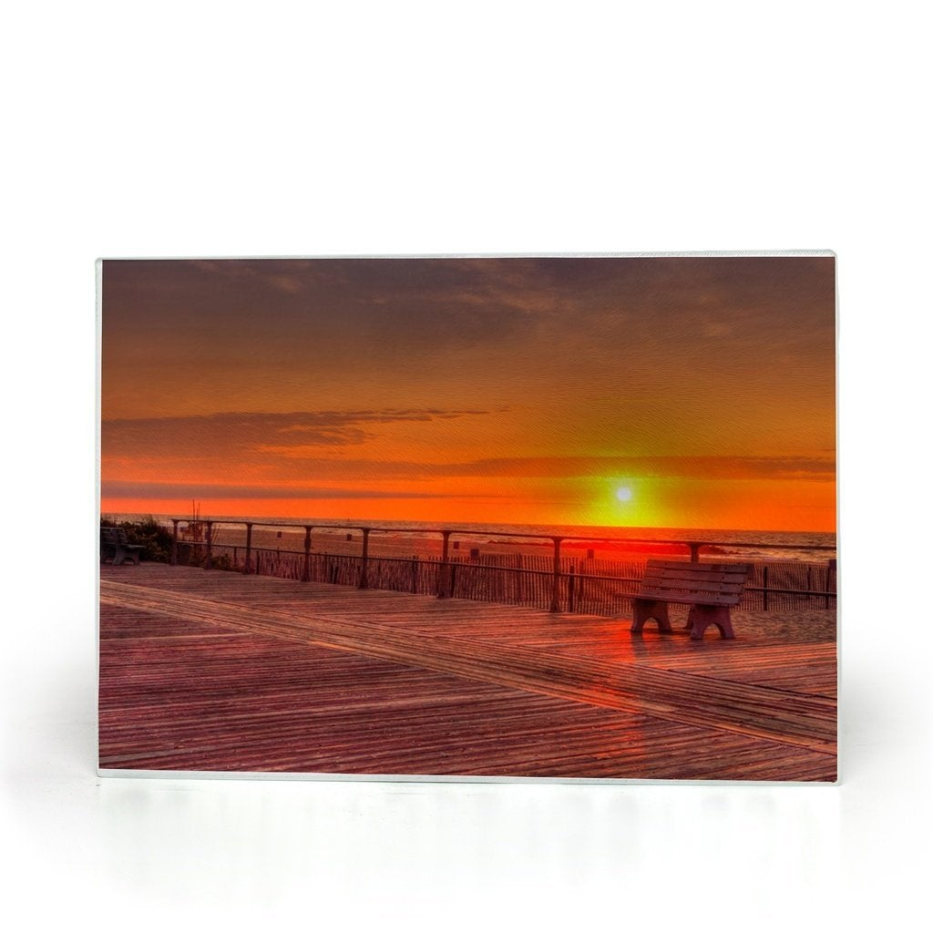 Glass Cutting Boards - Bill McKim Photography -Jersey Shore whale watch tours