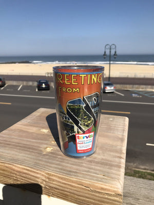 Greetings From Asbury Park Beach Tumbler