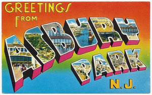 Greetings From Asbury Park 16oz Collectible Tumbler