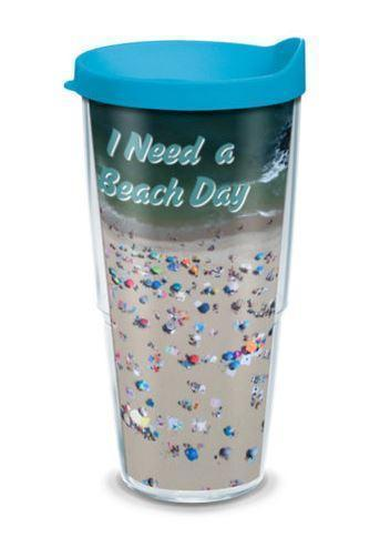 I need a beach Day! 24 oz Tervis Tumbler by Bill McKim - Bill McKim Photography -Jersey Shore whale watch tours