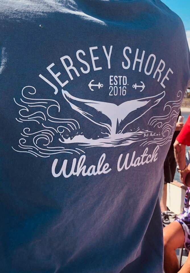 Jersey Shore Whale Watch Tshirt  Amazing Quality Preshrunk