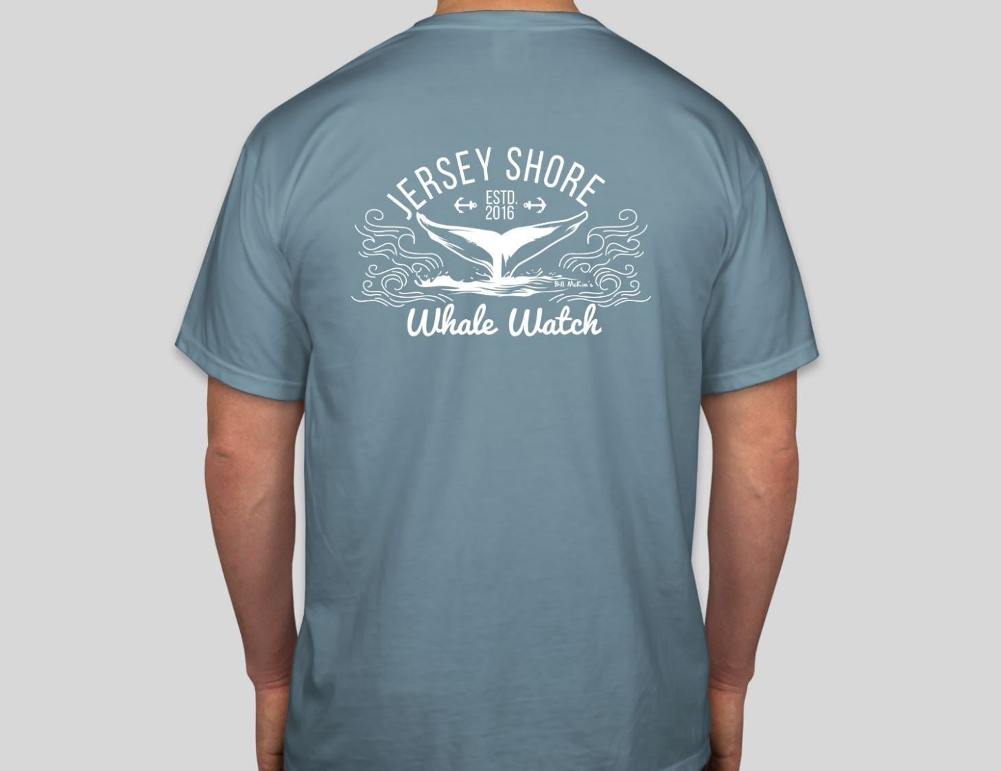Jersey Shore Whale Watch Tshirt Amazing Quality Preshrunk - Bill McKim Photography -Jersey Shore whale watch tours