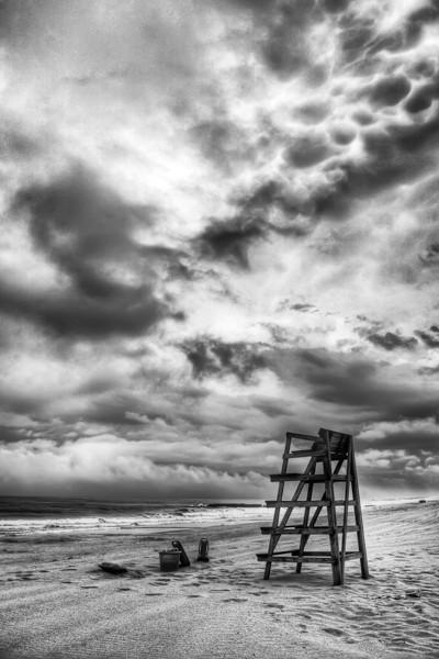 Lifeguard Chair - Bill McKim Photography -Jersey Shore whale watch tours