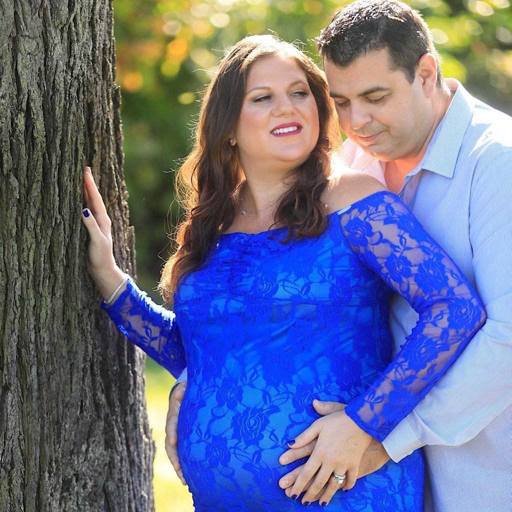 Maternity Session with Ocean or Park Backdrop - Bill McKim Photography -Jersey Shore whale watch tours
