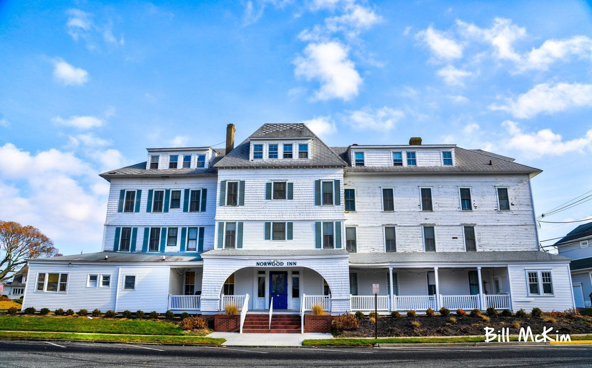 Norwood Inn Avon By The Sea Artwork - Bill McKim Photography -Jersey Shore whale watch tours