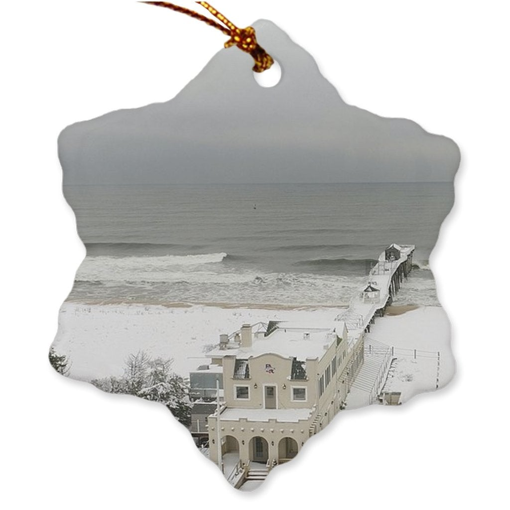 Porcelain Ornaments BFC - Bill McKim Photography -Jersey Shore whale watch tours