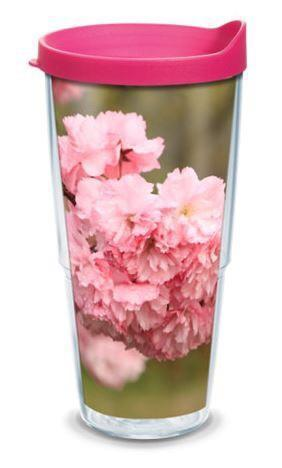 Spring Lake Cherry Blossoms Tervis Tumbler RETIRED - Bill McKim Photography -Jersey Shore whale watch tours