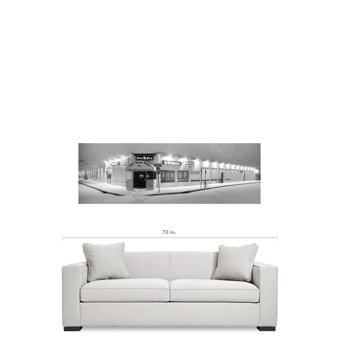 Stone Pony Asbury Park Canvas Gallery Wrap - Bill McKim Photography -Jersey Shore whale watch tours