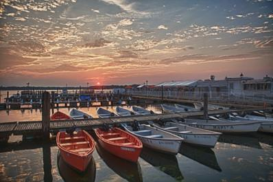 Sunset Marina - Bill McKim Photography -Jersey Shore whale watch tours