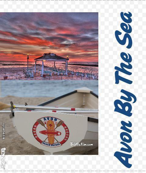 Tervis Tumbler by Bill McKim Avon By the Sea Collage Gazebo Vintage Lifeguard Boat - Bill McKim Photography -Jersey Shore whale watch tours